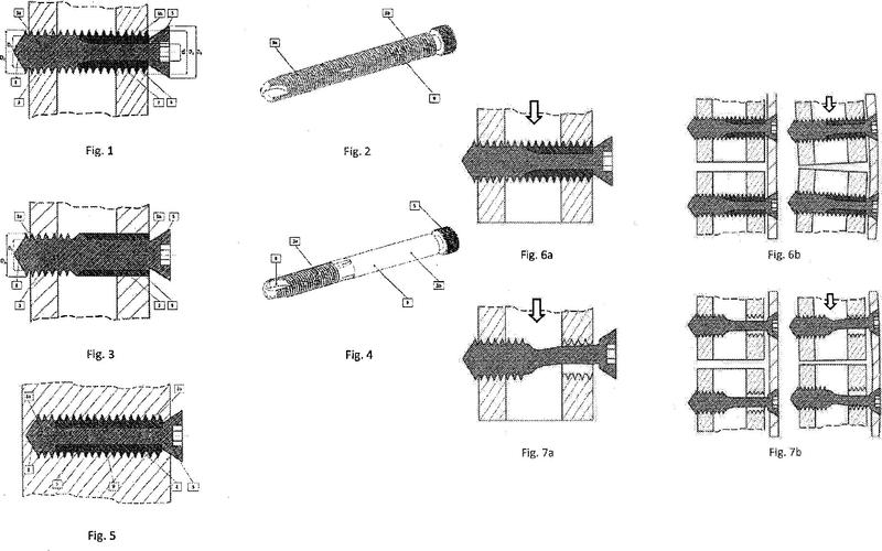 Dispositivo de fijación variable de fragmentos óseos.