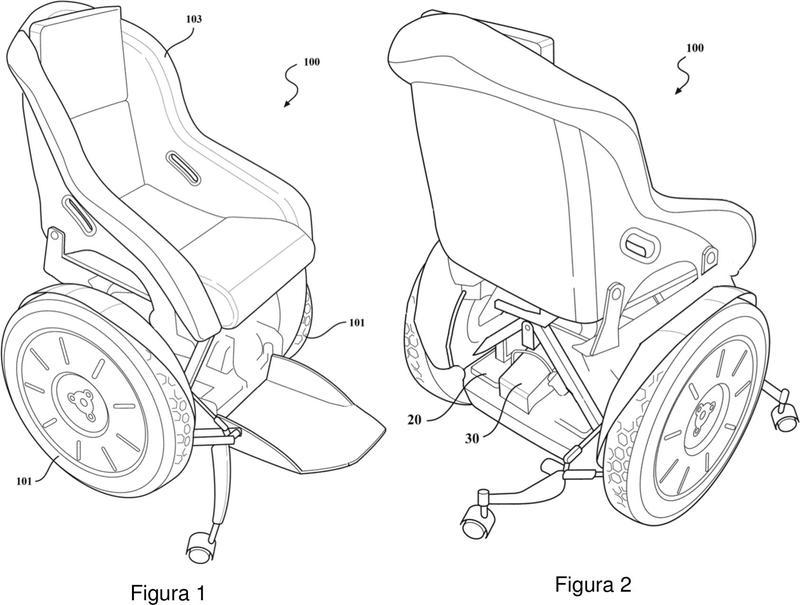 Dispositivo de movilidad motorizado con mecanismo de inclinación que tiene múltiples pivotes.
