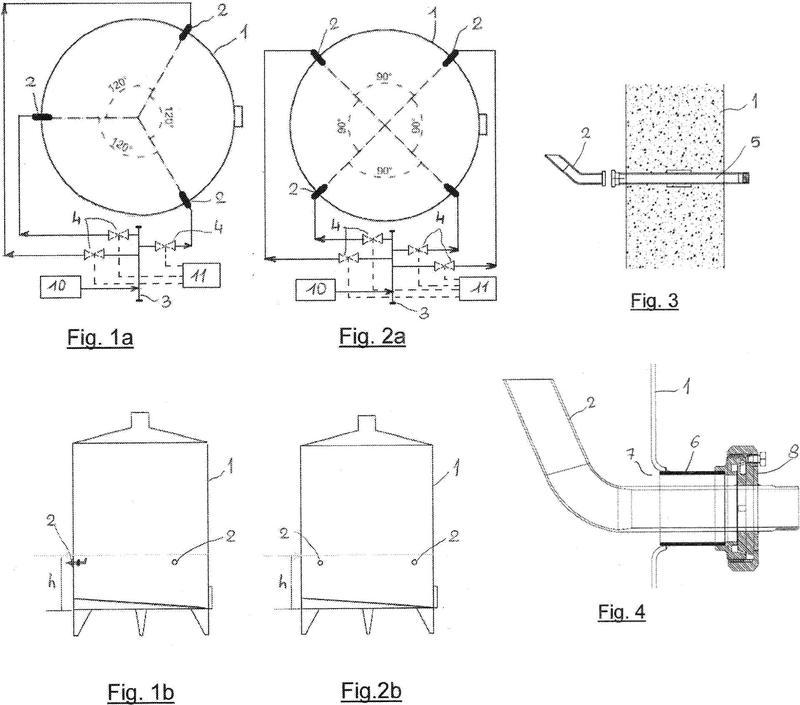 Dispositivo para la inyección controlada de aire en un tanque de vinificación y tanque de vinificación provisto de dicho dispositivo.