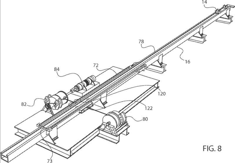 Lanzador eléctrico de vehículo aéreo no tripulado.