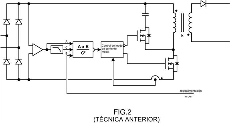Convertidor de potencia y red eléctrica asociada.