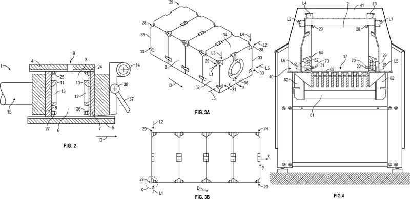 Máquina de moldeo de arena y procedimiento de producción de partes de molde de arena.