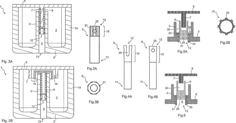 Elementos de sintonización roscados para resonadores coaxiales y procedimiento para sintonizar el mismo.