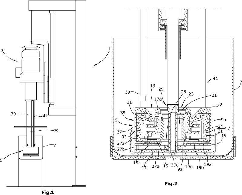 Mecanismo de molienda para un molino de cesta, así como molino de cesta.