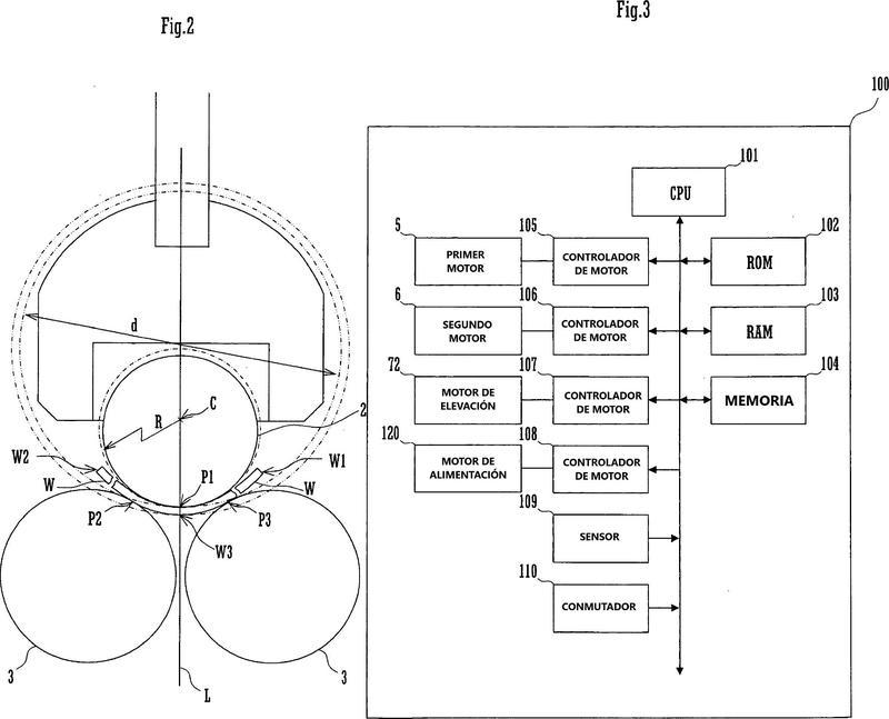 Dispositivo de formación de cilindro y método de formación de cilindro.