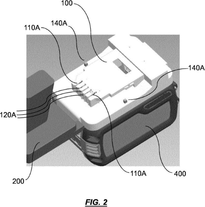 Un método y un sistema para su uso en la conexión operativa de un paquete de baterías a una máquina.