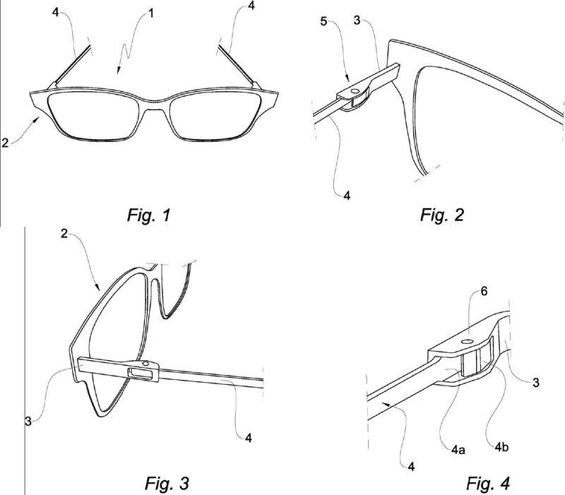Montura de gafas.