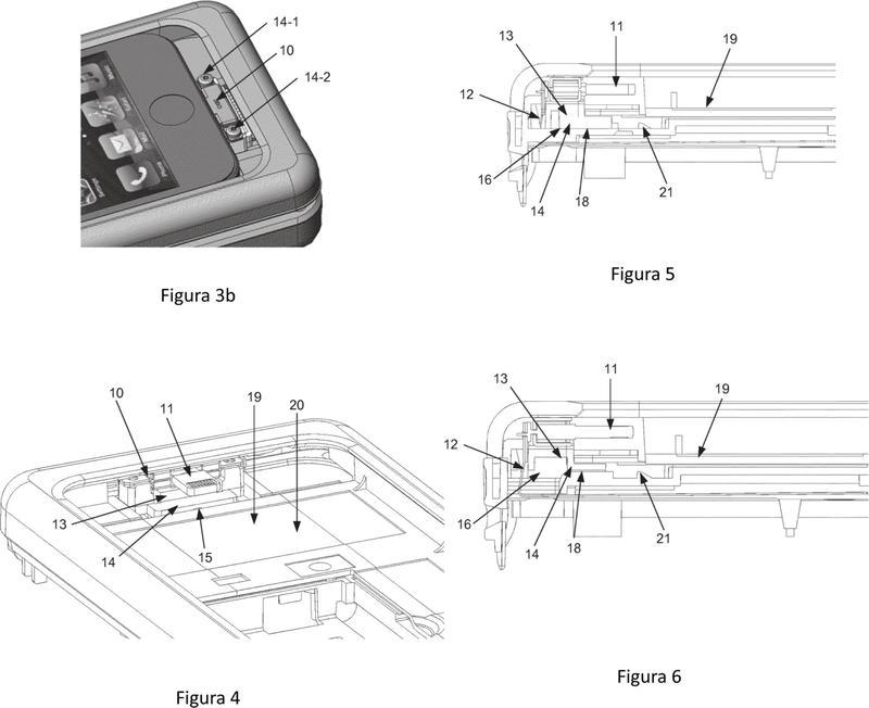 Dispositivo de inserción de terminal.
