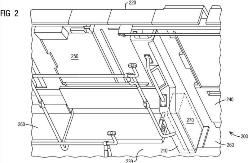 Limpiaparabrisas para alojar un sistema de lijado, vehículo ferroviario con sistema de lijado y procedimiento para instalar un sistema de lijado en un vehículo ferroviario.