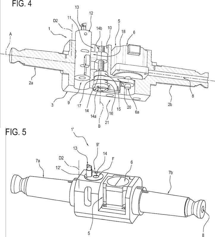 Máquina herramienta portátil que comprende un cabezal portaherramientas rotativo.