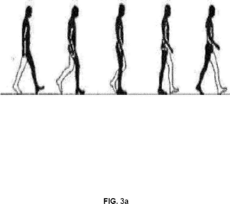 Procedimiento de estimación del movimiento de un peatón.