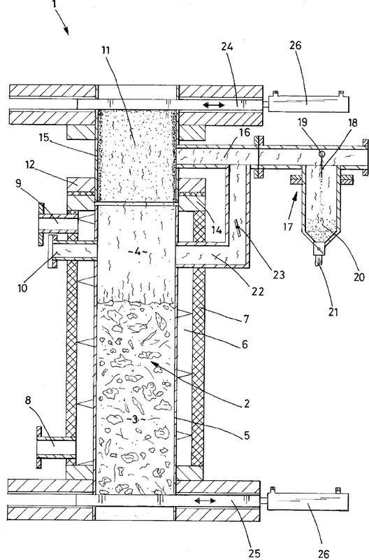 Reactor para la extracción de gas a partir de desechos orgánicos.