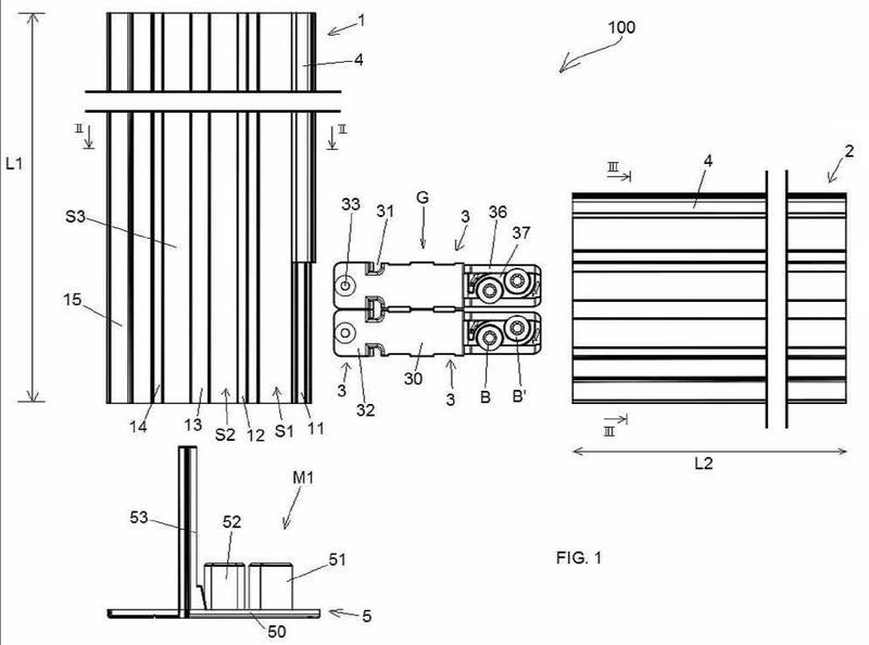 Kit para marco metálico de ventana.