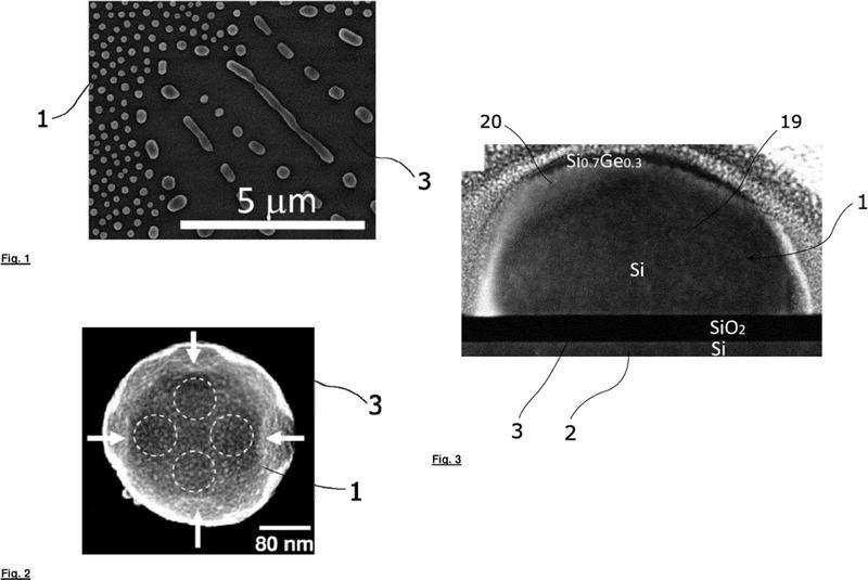 Filtro y detector ópticos de nanopartículas o micropartículas resonantes.