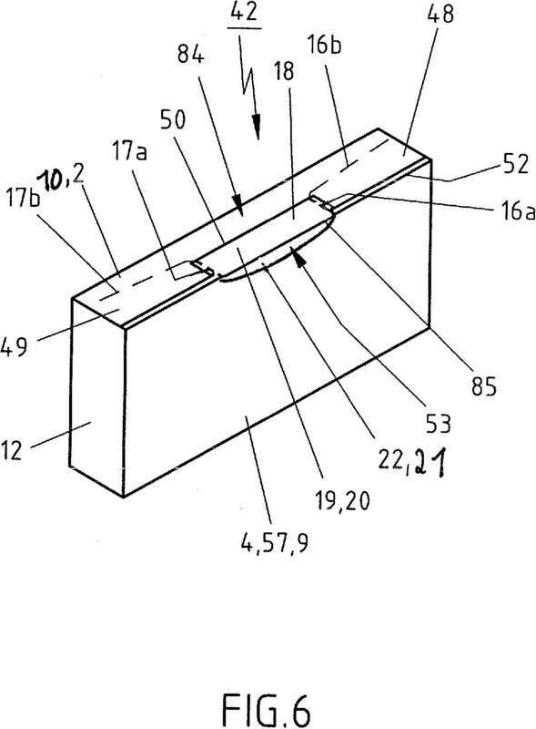Caja plegable que puede volver a cerrarse con un cierre de seguridad y a prueba de manipulación y troquelado para una caja plegable para su preparación.