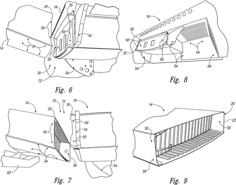 Métodos y sistemas de unión ala-fuselaje.