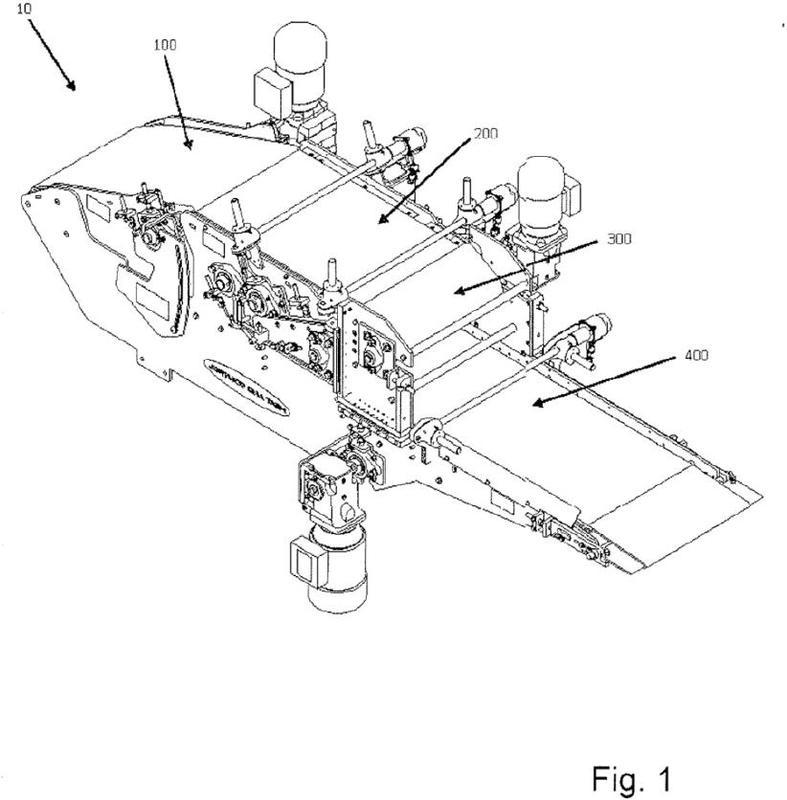 Sistema rolador de productos laminados.