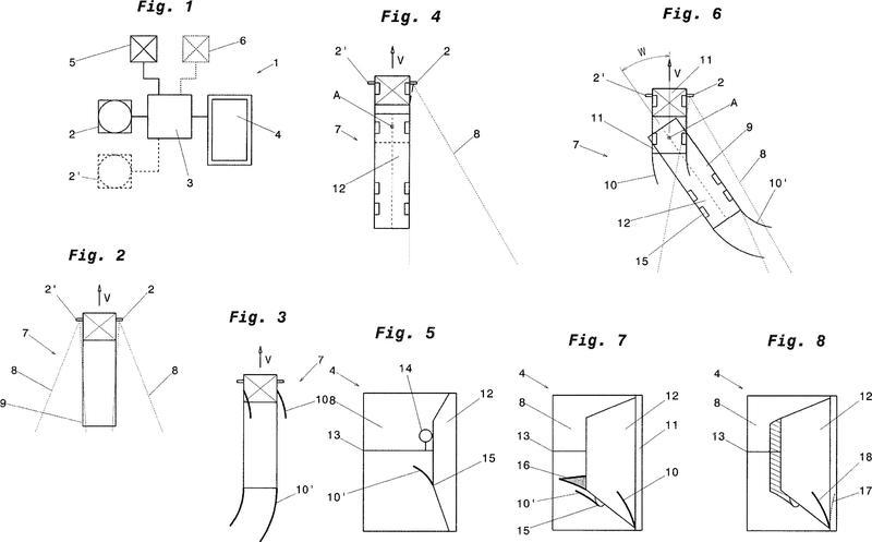Sistema de visión para un vehículo, en particular para un vehículo comercial.