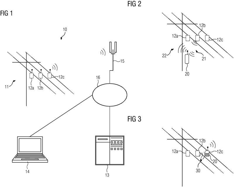 Procedimiento y sistema para monitorear el estado operativo de una red de suministro de energía.
