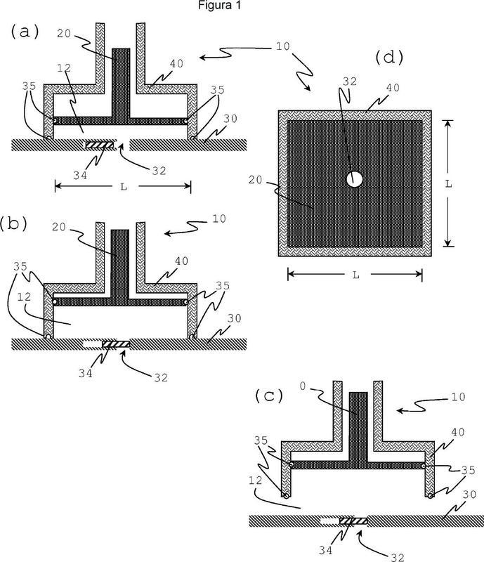 Procedimiento en molde para producir nanoespuma.
