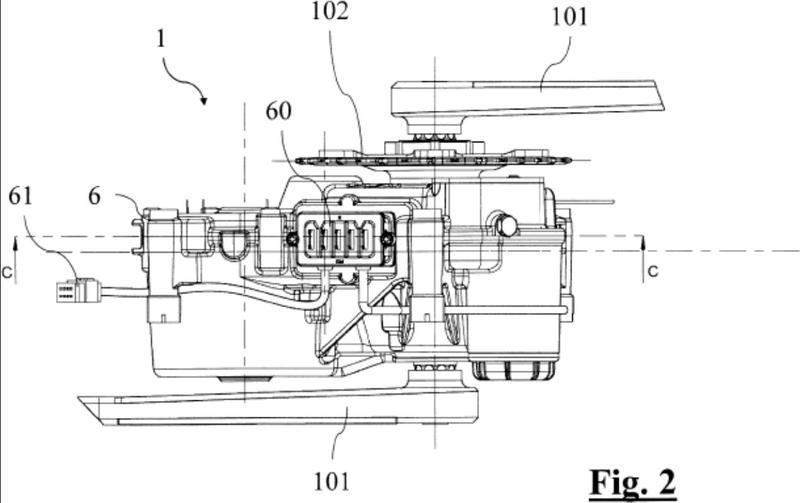 Motor de accionamiento de biela para bicicleta eléctrica con cambio de marcha automático.