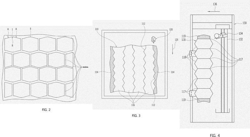 Método para fabricar paneles de piedra con dibujos continuos de múltiples lados.