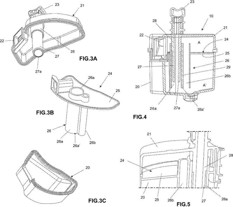 Dispositivo de atenuación acústica para compresores.