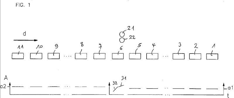 Procedimiento y dispositivo de soldadura para la valoración de la intensidad de la corriente de soldadura en la soldadura de marcos de recipiente.