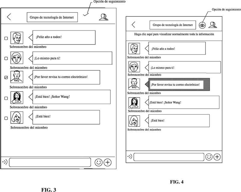 Método y dispositivo de chat grupal.