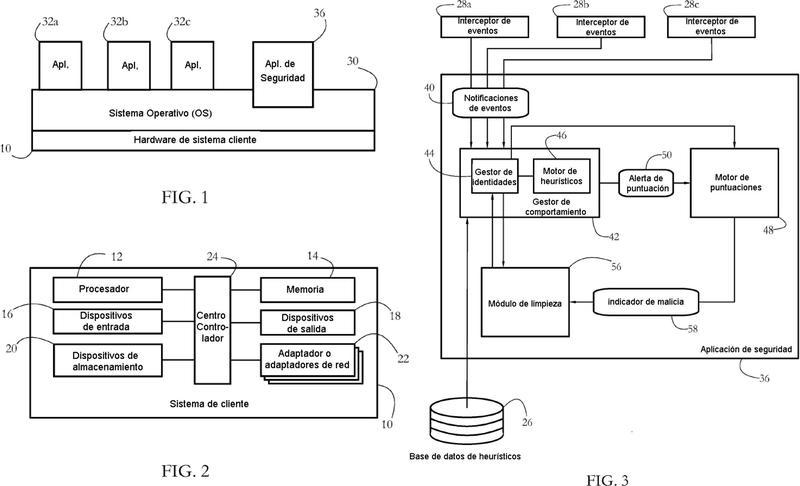 Sistemas y métodos para rastrear comportamiento malicioso a través de múltiples entidades de software.