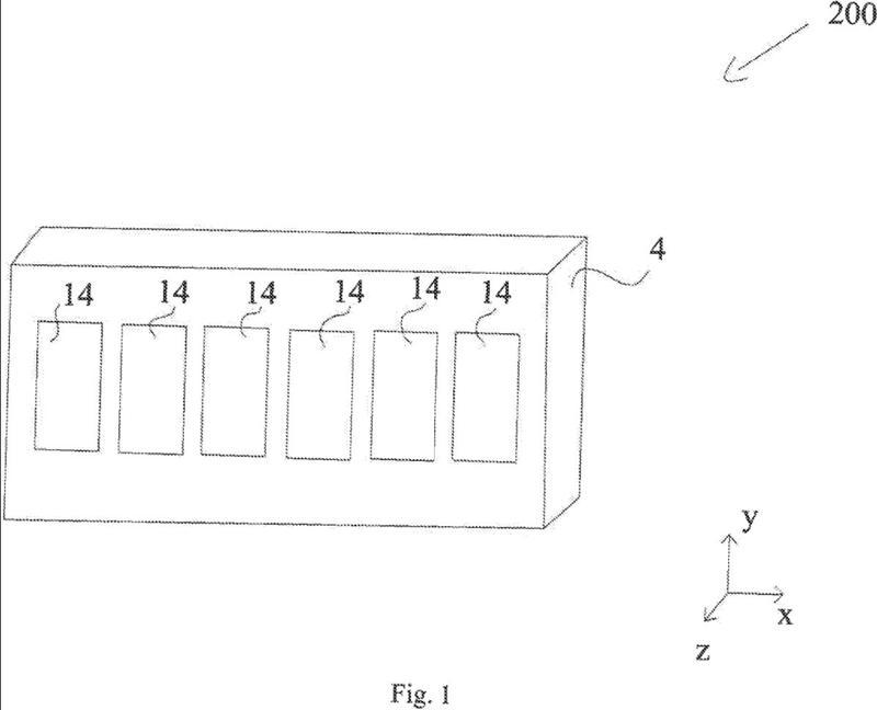 Un aparato para la incubación de un material biológico.