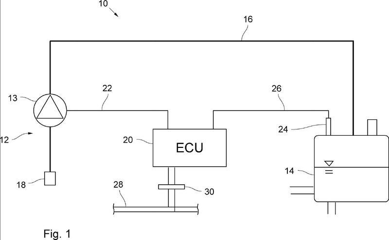 Unidad accionada por motor con un sistema de presurización de un circuito de refrigeración de un motor de combustión interna.