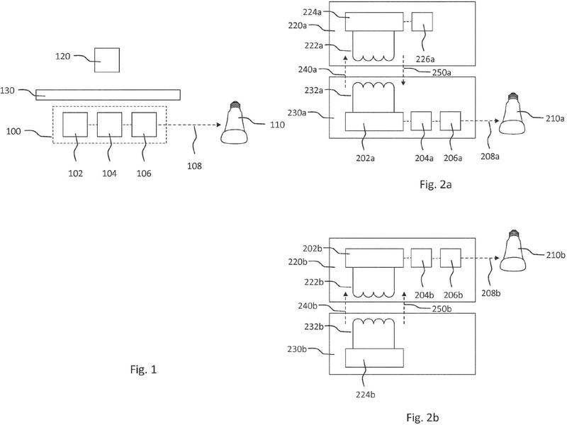 Un sistema de control para controlar un dispositivo de iluminación dispuesto para proporcionar iluminación funcional y/o de ambiente usando la presencia de un dispositivo portátil.
