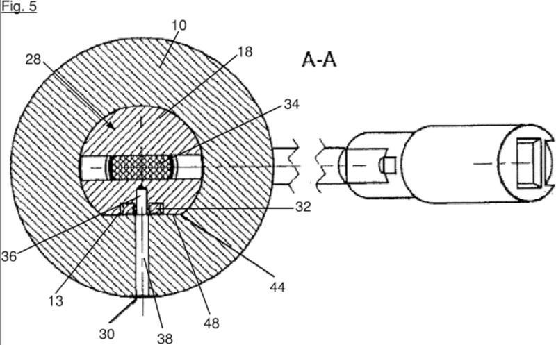 Ilustración 3 de la Galería de ilustraciones de Sistema de graduación de amortiguación con anillo de obturación perpendicular