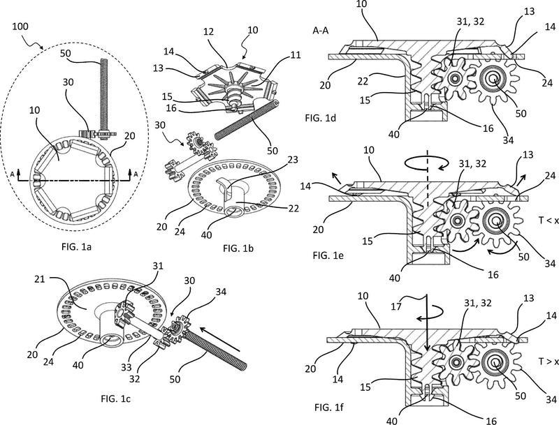 Ilustración 4 de la Galería de ilustraciones de Dispositivo médico de regulación de flujo de fluido con unidad de bloqueo