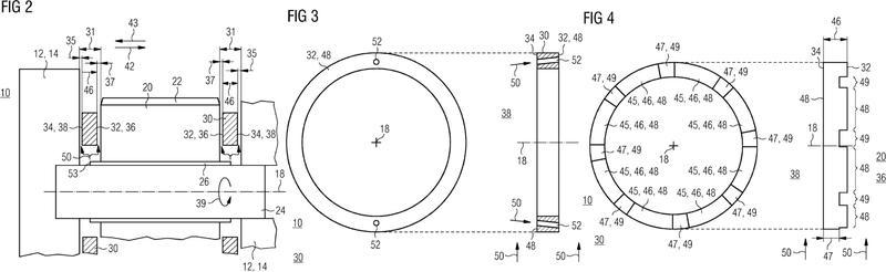 Soporte para un engranaje planetario de un mecanismo de transmisión planetario.