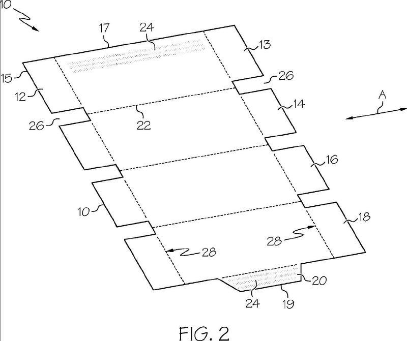 Dispensador aplicador de adhesivo reversible sin contacto.