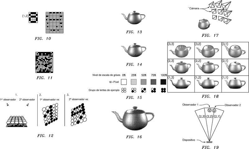 Ilustración 2 de la Galería de ilustraciones de Dispositivo de seguridad para proyectar una colección de imágenes sintéticas