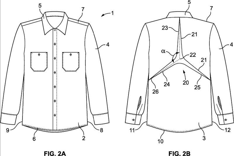 Ilustración 1 de la Galería de ilustraciones de Camisas configuradas para mejorar la movilidad de un trabajador