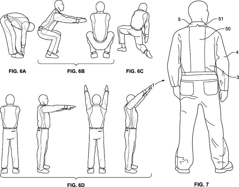 Ilustración 3 de la Galería de ilustraciones de Camisas configuradas para mejorar la movilidad de un trabajador