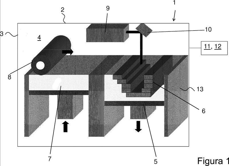 Procedimiento para la fabricación generativa y la codificación de un elemento constructivo tridimensional.