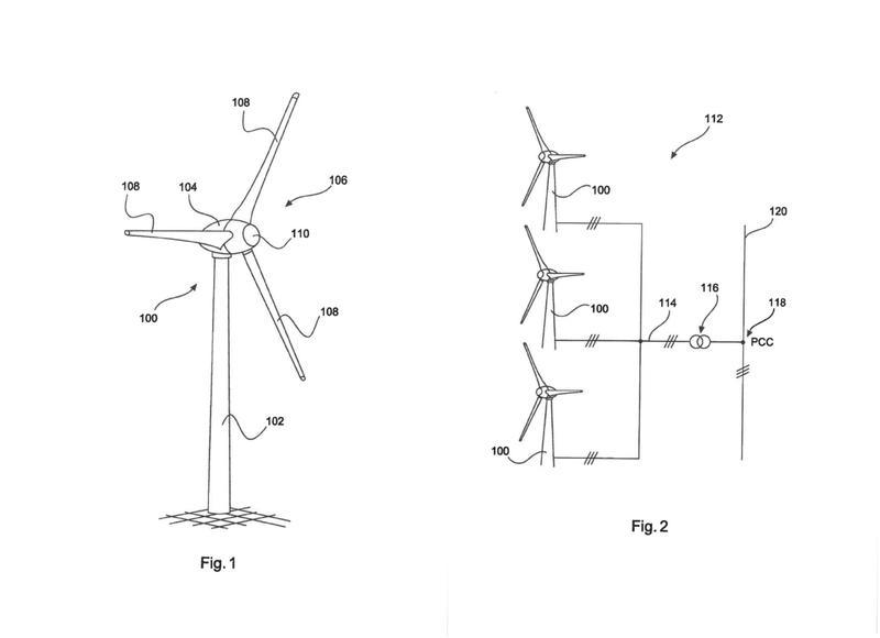 Procedimiento para alimentar potencia eléctric a una red de suministro eléctrico.