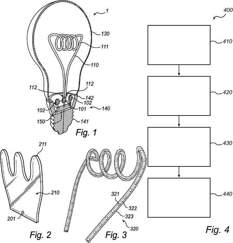 Dispositivo de iluminación y método para fabricar un dispositivo de iluminación.
