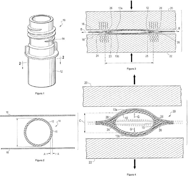 Proceso para sellar un accesorio flexible a una película flexible.