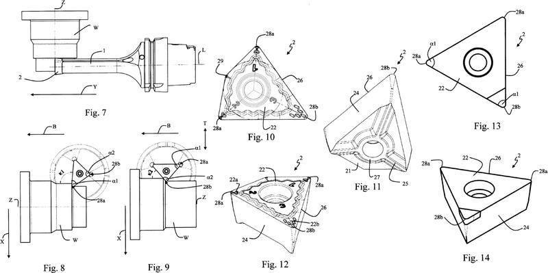 Ilustración 1 de la Galería de ilustraciones de Sistema de herramientas y procedimiento de torneado