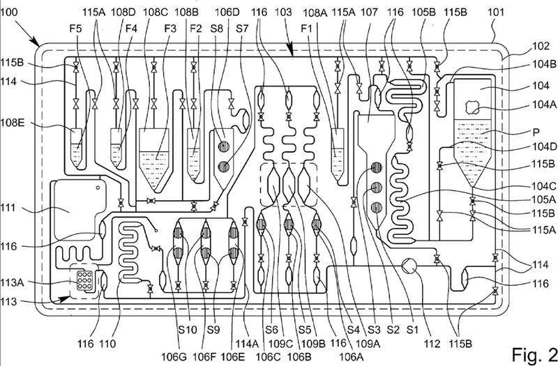 Ilustración 1 de la Galería de ilustraciones de Dispositivo de análisis y método para examinar una muestra