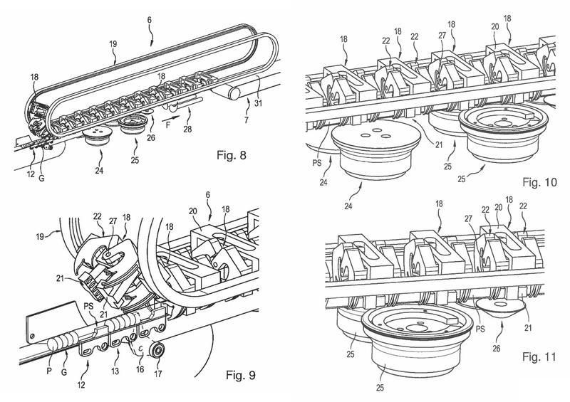 Ilustración 2 de la Galería de ilustraciones de Procedimiento y dispositivo para envasar productos de piezas pequeñas apilados