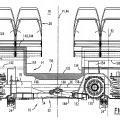 Ilustración 1 de Vehículo ferroviario que comprende unos bogies pivotantes.