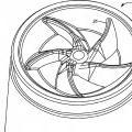 Ilustración 4 de Aparato para limitar la rotación de un recipiente de mezcla.