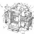 Ilustración 4 de Bastidor de soporte para rodillos de una caja de laminación y caja de laminación provista de dicho bastidor.